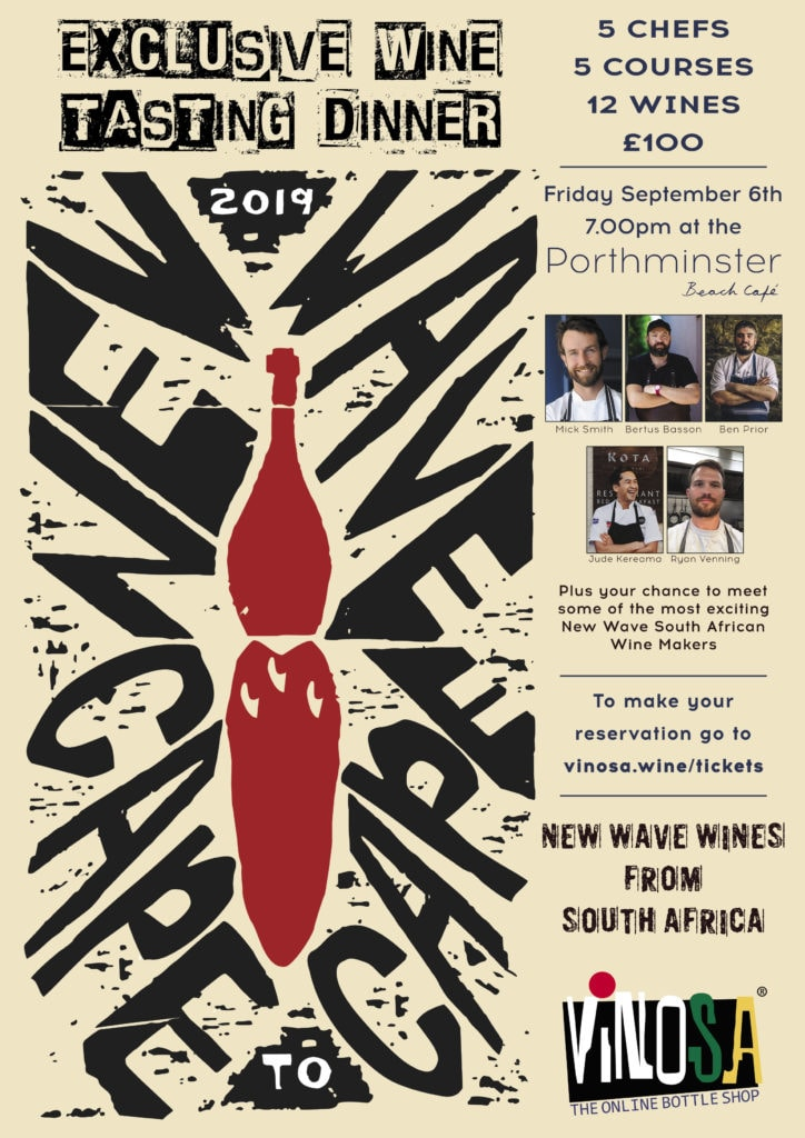 Cape to Cape New Wave Wine Tasting Dinner